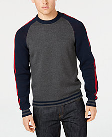 American Rag Men's Academia Crewneck Sweater, Created for Macy's