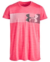 Under Armour Big Girls Hybrid Logo-Print T-Shirt 479c9ca189481