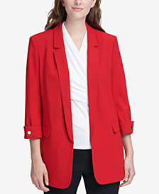 DKNY 3/4-Sleeve Blazer, Created for Macy's