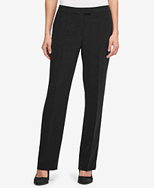 DKNY Ponté-Knit Bootcut Pants, Created for Macy's