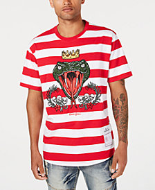 Reason Men's Striped Snake T-Shirt