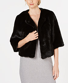 Calvin Klein Faux-Fur Short Jacket