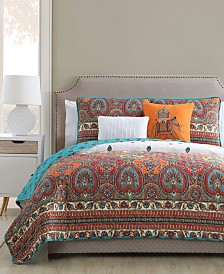 VCNY Home Adelia Reversible 5-Pc. Quilt Set Collection