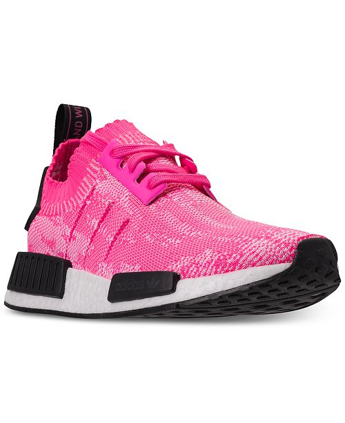 a8d54546e adidas Women s NMD R1 Primeknit Casual Sneakers from Finish Line ...