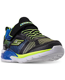 Skechers Toddler Boys' S Lights: Erupters II - Lava Waves Light-Up Casual Sneakers from Finish Line