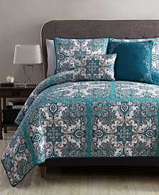 VCNY Home Istanbul Reversible 5-Pc. Queen Quilt Set