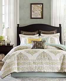 CLOSEOUT! Miramar 4-Pc. Full Comforter Set
