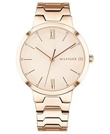 Women's Carnation Gold-Tone Bracelet Watch 36mm Created for Macy's