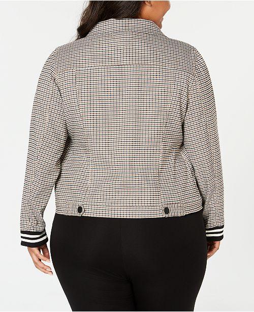 9c07f5bb42a Tommy Hilfiger Plus Size Plaid Jacket