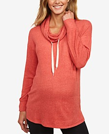 Cowl-Neck Sweatshirt
