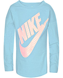 Nike Little Girls Futura-Graphic T-Shirt