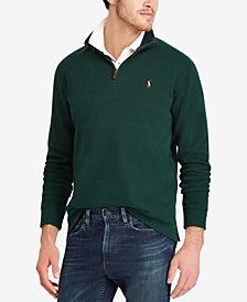 Polo Ralph Lauren Men's Estate-Rib Mock-Neck Pullover, Created for Macy's