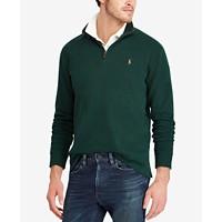 Deals on Polo Ralph Lauren Men's Estate-Rib Mock-Neck Pullover
