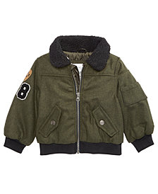 Carter's Baby Boys Patches Bomber Coat