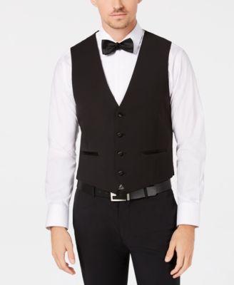 Men's X-Fit Stretch Black Vest