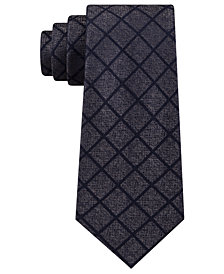 Michael Kors Men's City Grid Silk Tie
