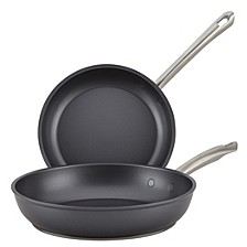 Accolade Forged Hard-Anodized Skillet Twin Pack