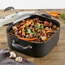 Anolon Advanced Hard-Anodized Nonstick 7qt Covered Square Dutch Oven