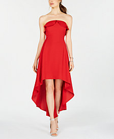 19 Cooper Strapless High-Low A-Line Dress