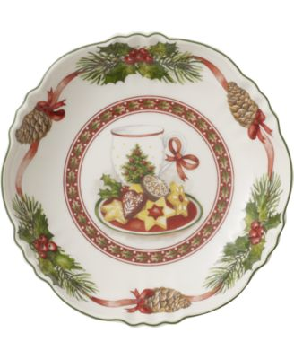 Toy's Fantasy Milk & Cookies Porcelain Small Bowl