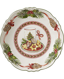 Villeroy & Boch Toy's Fantasy Milk & Cookies Porcelain Small Bowl