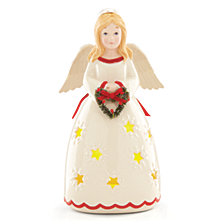 Lenox Merry & Light Lit Angel Figurine