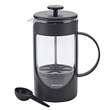 BonJour Coffee Unbreakable 40oz Plastic French Press with Lock and Toss™ Filter