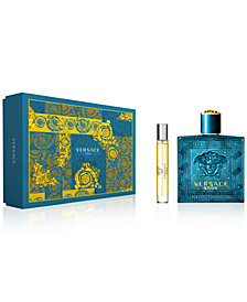 Versace Men's 2-Pc. Eros Gift Set, A $144 Value, Created for Macy's