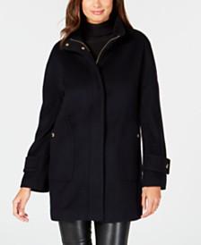 Anne Klein Stand-Collar Coat