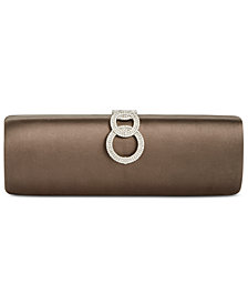 I.N.C. Isabeel Double Ring Clutch, Created for Macy's