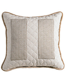 "Herringbone 18""x18"" Pocket Pillow"
