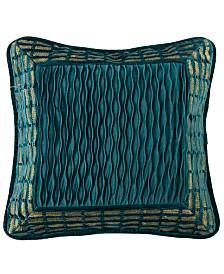 Teal Velvet Decorative Pillow