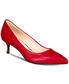 Kenneth Cole New York Morgan Kitten-Heel Pumps