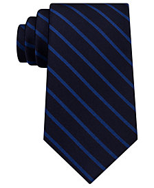 Tommy Hilfiger Men's Stripe Silk Tie