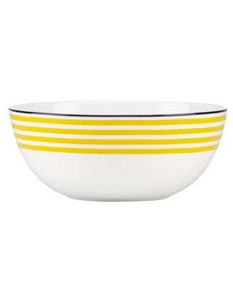 kate spade new york Dinnerware Wickford Sea Cliffs Stripe Bowl  sc 1 st  Macy\u0027s & kate spade new york Dinnerware Wickford Sea Cliffs Stripe Bowl ...