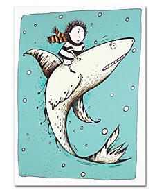 Carla Martell 'Fish Boy' Canvas Art Print Collection