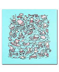 Carla Martell 'Lovely Little Animals' Canvas Art Print Collection