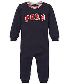 Polo Ralph Lauren Baby Boys Logo Graphic Coverall
