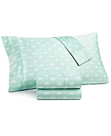 Goodful™ Printed 4-Pc Queen Sheet Set, 300 Thread Count Hygro Cotton, Created for Macy's