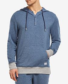 2(x)ist Men's Hooded Henley Sweatshirt