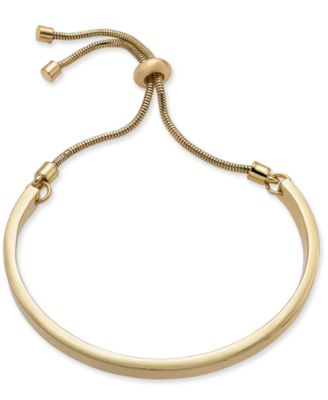 Image of Alfani Curved Bar Slider Bracelet, Created for Macy's