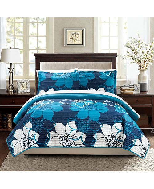 Chic Home Woodside 3 Piece Quilt Sets