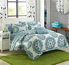Madrid 4 Piece Quilt Sets