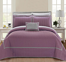 Chic Home Mesa 8 Piece King Quilt Set