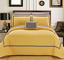 Chic Home Mesa 8 Piece Queen Quilt Set