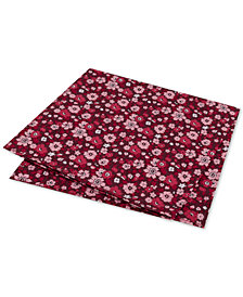 Tommy Hilfiger Men's Large Floral Conversational Pocket Square
