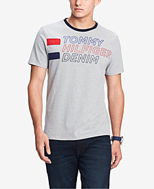 Tommy Hilfiger Men's Logo Graphic T-Shirt, Created for Macy's