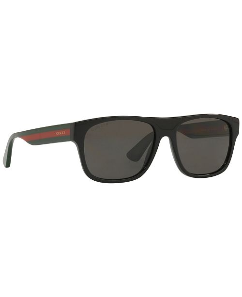 fd3c04680 Gucci Polarized Sunglasses, GG0341S 56 & Reviews - Sunglasses by ...