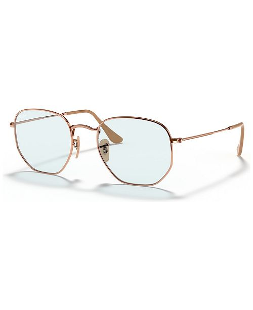 Ray-Ban Sunglasses, RB3548N HEXAGONAL EVOLVE
