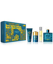 Versace Men's 4-Pc. Eros Gift Set